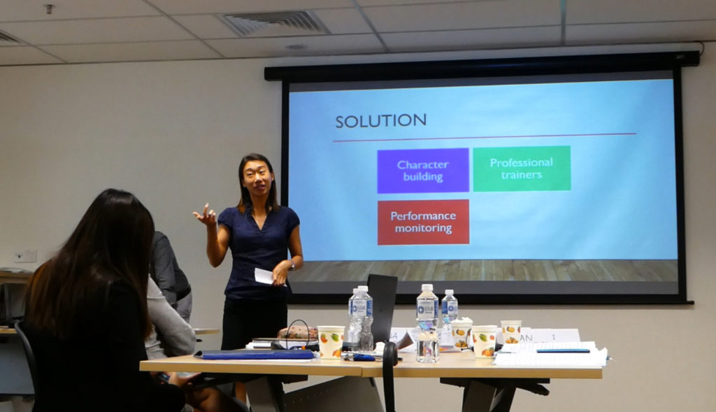 Perfect Presentations with LGB Group