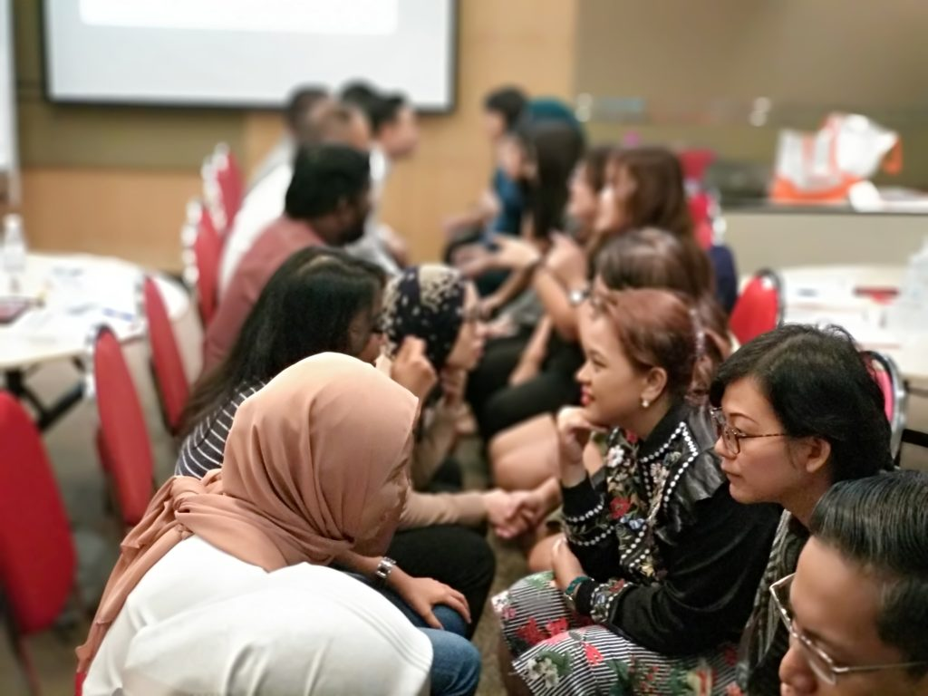Socialising & Networking with OCBC Bank