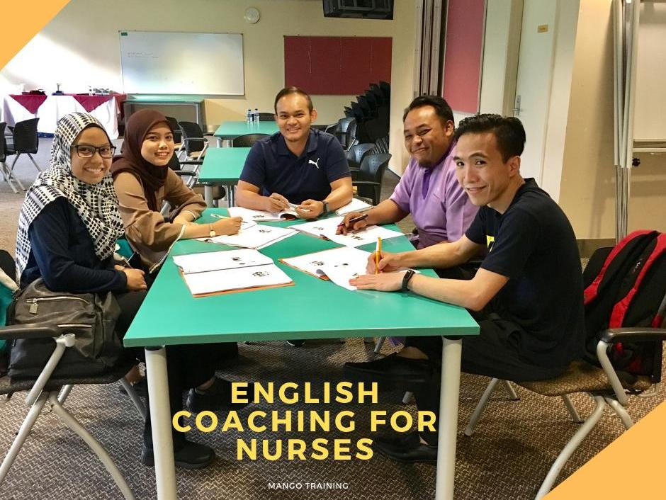 English Coaching for Nurses with Prince Court Medical Centre
